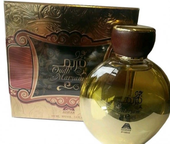 Beautiful Arabian Perfume Oud Oudh Maryam 100ml EDP By Anfar Best For Gift