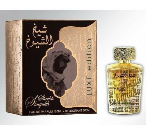 Sheikh Al Shuyukh Perfume Spray By Lattafa 100ml