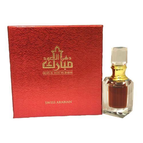 Dehn El Ood Mubarak Perfume Oil (6ml) By Swiss Arabian
