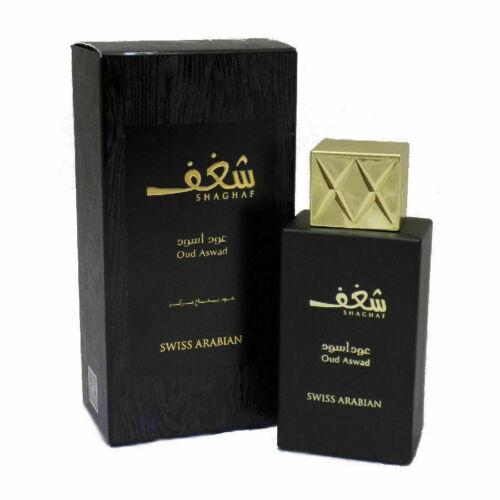Shaghaf Oud Aswad Unisex 75ML by Swiss Arabian